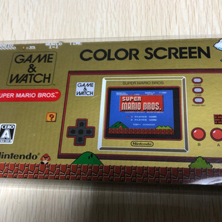 GAME &WATCH  COLOR SCREEN スーパ…