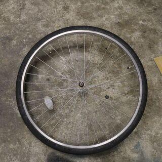 26インチ ママチャリの 前輪 修理したい方に DIY