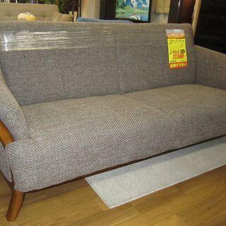 R209 高級 府中家具 布製 2Pソファ、幅140cm 美品