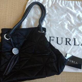 【FURLA】黒バッグ