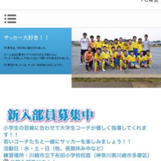 FC青空★新入部員大募集‼️