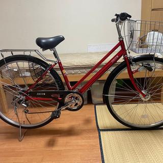 自転車本体 赤色