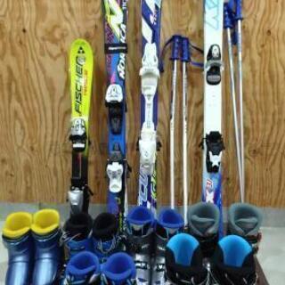 【ネット決済】スキー板ブーツセット どれでも一組セットで3850円