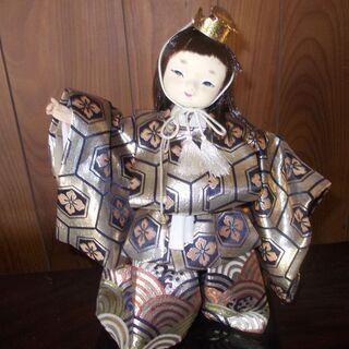 童の手作り日本人形