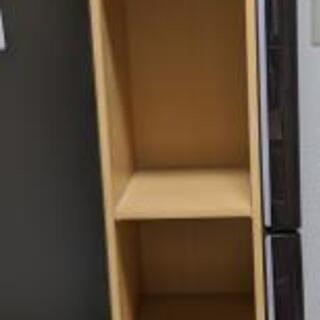 カラーボックス 高くて細い棚