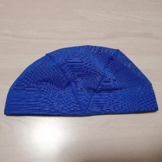 スイムキャップ 青色 Sサイズ