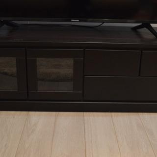 テレビ台 ニトリ ダークブラウン 幅120cm