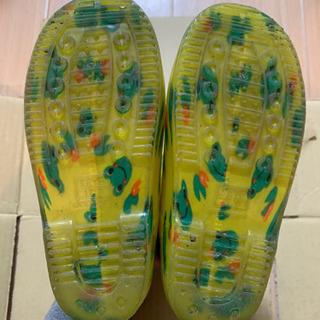 カエル柄 長靴 17cm