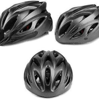 【新品】超軽量 自転車ヘルメット 流線型 サイズ調整 ロー…