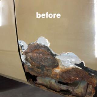 え?こんな車も直るの? 鈑金塗装 錆び修理 レストア 腐食…