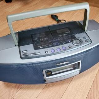 中古品 Panasonic CDラジカセ