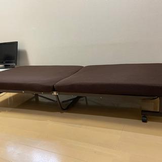 シングルベッド 折り畳み - 横浜市