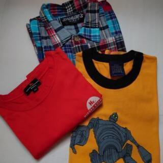 半袖 Shade'sシャツと、Tシャツ2枚 160cm