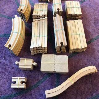 木製機関車トーマスレール一式1