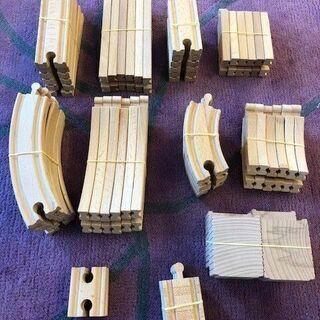 木製機関車トーマスレール一式2
