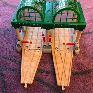 木製機関車トーマス駅等一式