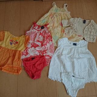 GAP& ミキハウス80cmベビー服【夏物】