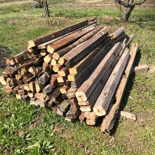 薪ストーブ等の燃料に 木材 廃材