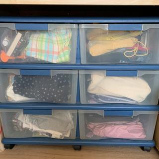 押入れ収納 プラスチック衣装ケース