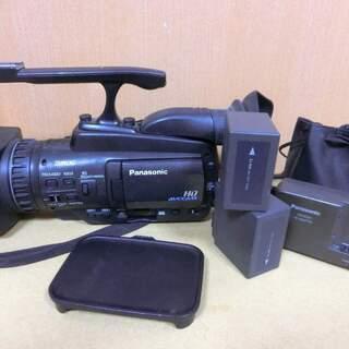 パナソニック業務用ビデオカメラAG-HMC45Aとワイドコ…