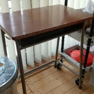 小学校の机★レトロ★テーブル