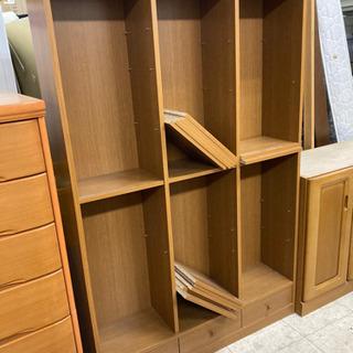 【好きに組み立てて使って‼️】本棚 棚 飾り棚