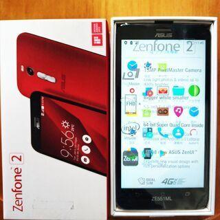 シムフリースマホ zenfone2 4GB/32GB