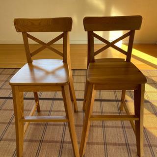 IKEA  子供用チェア 2脚セット