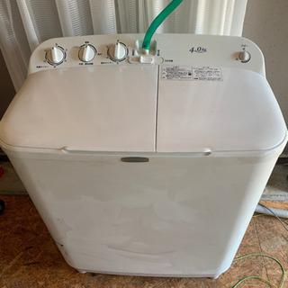 ハイアール2層式洗濯機