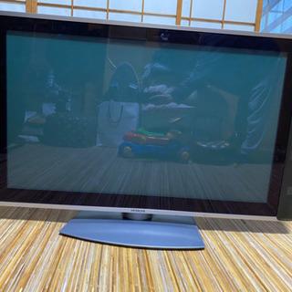 HITACHI WOOO42型プラズマテレビ