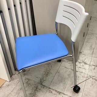 中古美品 スタッキングチェア 会議椅子 会議用イス ミーテ…
