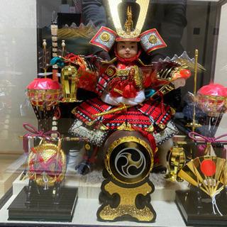 【大閣作】若武者大将  五月人形・鎧、兜人形