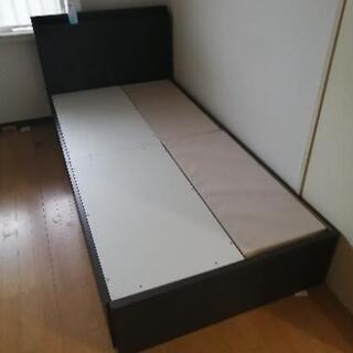 シングルベッドとマットレスセット 無料