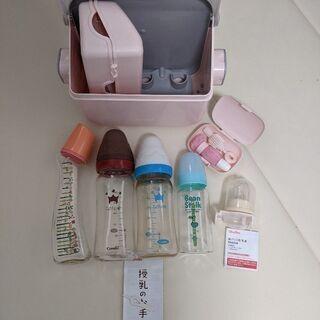 哺乳瓶・電子レンジ消毒容器