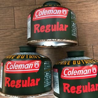 コールマン LPGガス 3缶セット