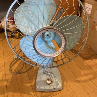 三菱 レトロ 扇風機 完動品