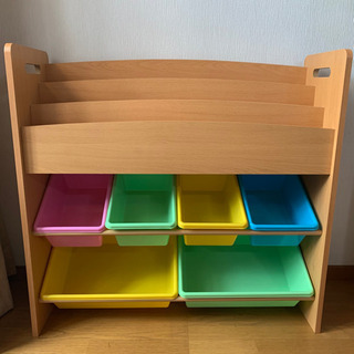 本棚 おもちゃ収納 棚