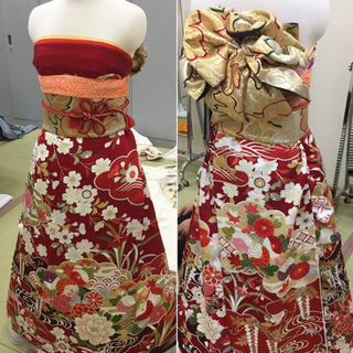 仕事にしよう♪着付師講座〜振袖をドレスに!〜