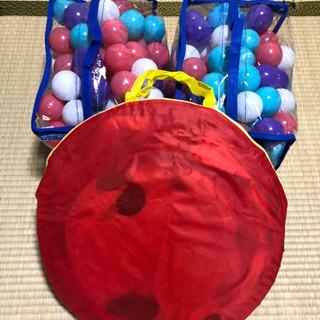 ボールプール(トンネル付)+ボール200個の画像