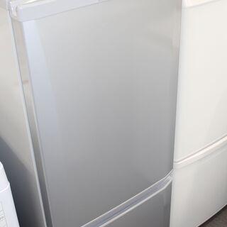 新生活応援! 美品 三菱 冷凍冷蔵庫 MR-P15D-S形…
