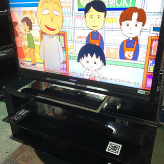 SONY 40インチ 液晶テレビ 2008年製 上部のフレーム割れあり