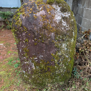 苔むした大きな庭石 他5個ほど