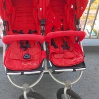 双子、ベビーカー、Baby Stroller