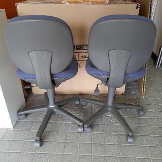 椅子 1脚 キャスター付き 作業椅子 パソコン椅子 - 鯖江市