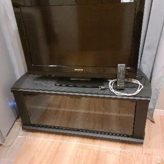 32型液晶テレビ テレビ台セット 動作問題なし 10年製 …