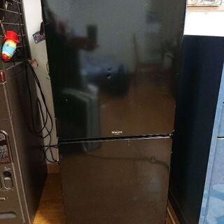 ユーイング MR-F110MB(K) 冷凍冷蔵庫 MORI…