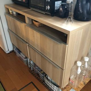 食器棚 木目 風 IKEA 無印