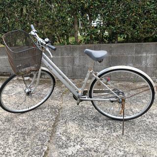 シルバー自転車 27インチ 3段切替え