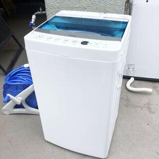 中古☆Haier 洗濯機 2018年製 5.5K