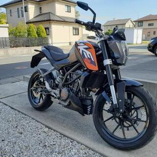 ★4点評価 KTM200 DUKE デューク KTM125DUK...